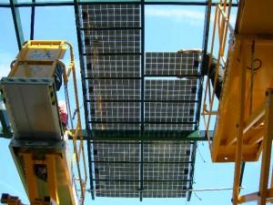 installation de verrières photovoltaïques