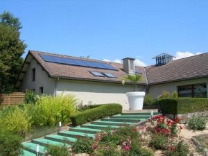 solaire thermique golf bresson